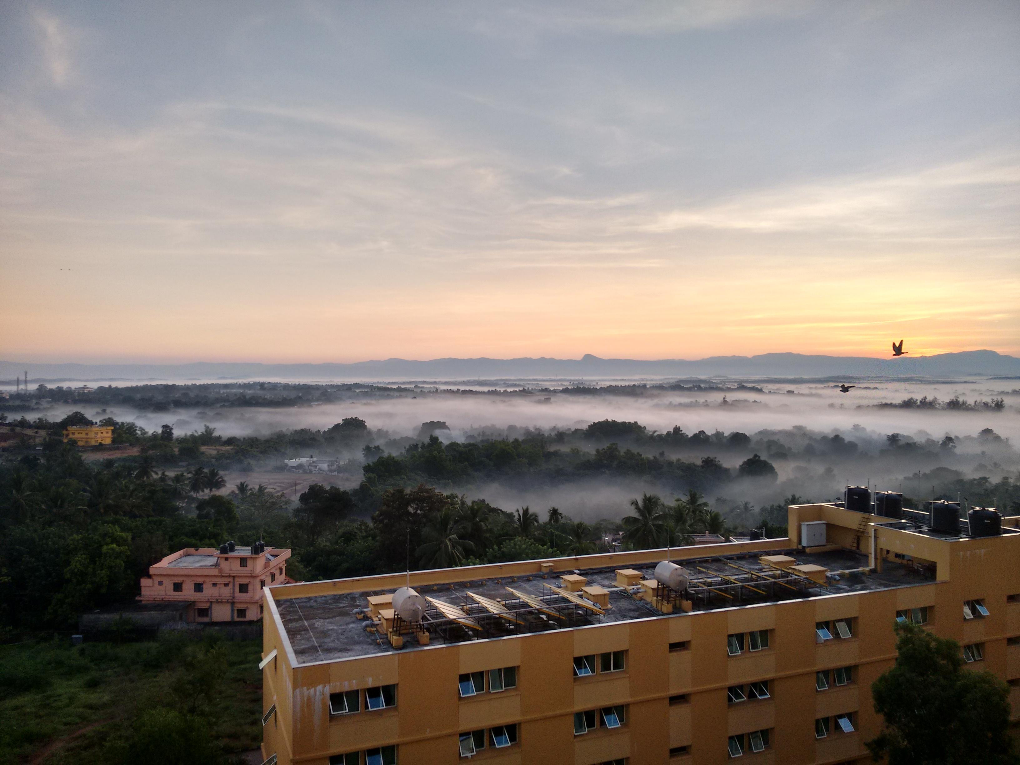 Sunrise from Block 16